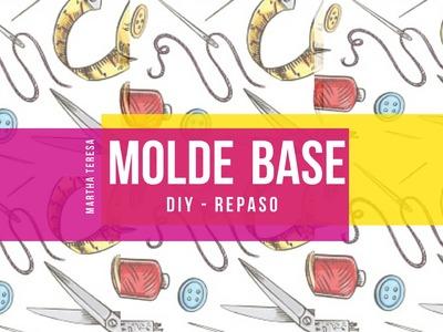 """DIY - Molde Base  """"REPASO"""" Ropita para Mascotas."""
