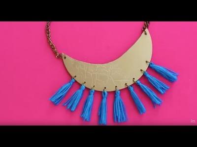 DIY collar borlas