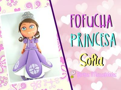DIY - Como hacer Fofuchas - Princesa Sofia - #TijeritasManualidades