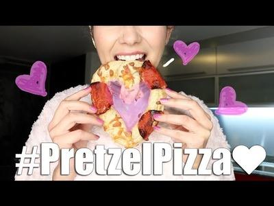 ❤︎DIY-  Pizza Pretzel de Corazón❤︎