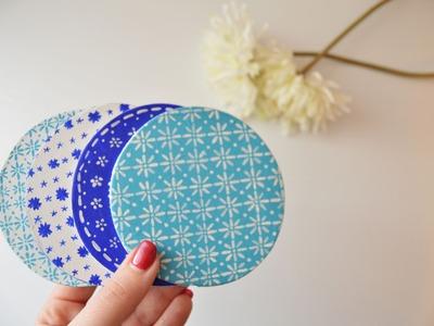 DIY posavasos fáciles! (Easy coaster) | The White DIY