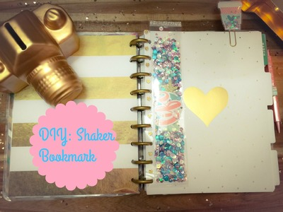 DIY: Shaker Bookmark for Planners