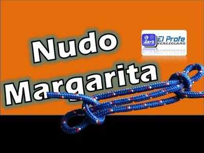 Nudo Margarita - How to make Margarita Not - Nudos Scouts 3.3
