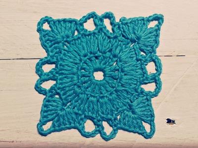 Aprende a tejer Granny Square paso a paso ¡DIY! cucaditasdesaluta