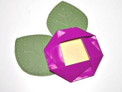 Camelia de Origami | Origami Flower | Mundo@Party