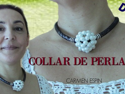 COLLAR DE PERLAS:DIY