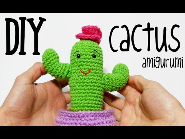 Crochet Cactus Amigurumi- Free Patterns - DIY 4 EVER | 480x640