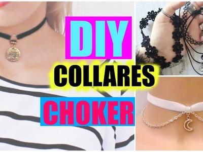 DIY collares choker