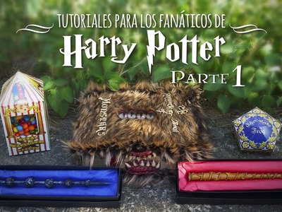 DIY de Harry Potter (PARTE 1) | MEGATUTO DREEN