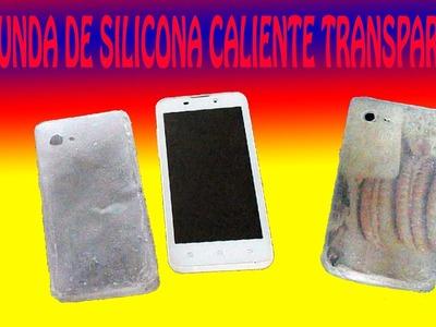 DIY FUNDA DE CELULAR CON SILICONA CALIENTE