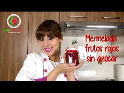 DIY Mermelada de frutos rojos sin azúcar