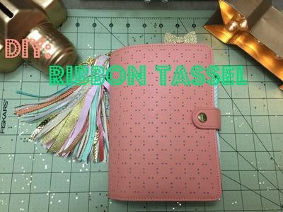 DIY: Ribbon Tassel | Tassel de Cintas