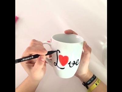 DIY-Tutorial, crea tus propias tazas personalizadas