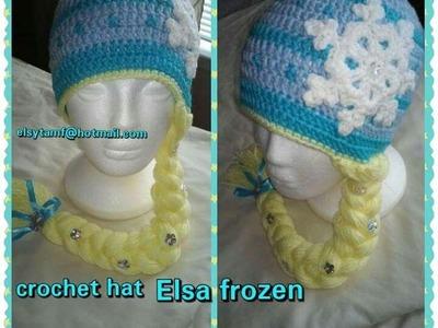 Gorro a crochet de Elsa de Frozen ☆ parte 1