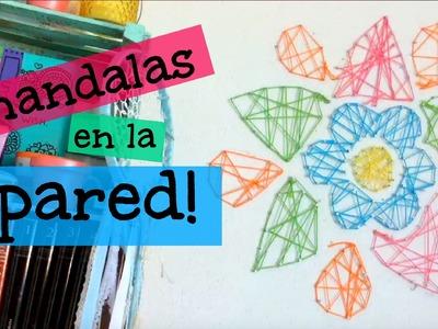 Mandalas en la Pared DIY! ♡ Dani Hoyos Art