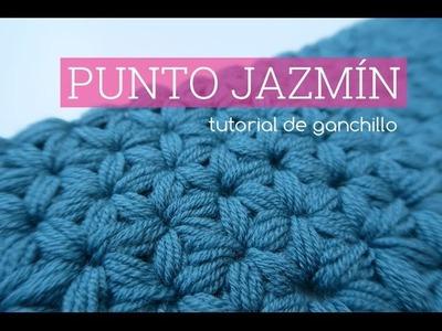 Punto jazmin a ganchillo | Crochet Jasmine stitch