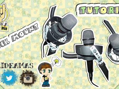 Shock Mount para Micrófono || DIY || Una Idea Más