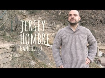 Tutorial Jersey Hombre Fácil Ganchillo | Crochet