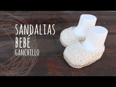 Tutorial Sandalias Bebé Punto Estrella Ganchillo | Crochet