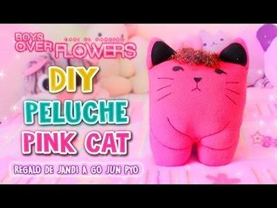 DIY KDRAMA ♡ PELUCHE DE GATO DE BOY OVER FLOWERS (PINK CAT) ♡ l Fabbi Lee