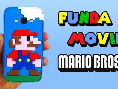 Funda para móvil o celular de Mario Bros, cómo se hace