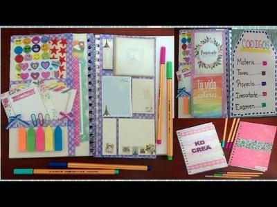 Haz tu propia libreta de tareas. agenda personalizada - Ingenio KD