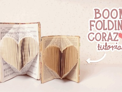 NerDIY: BOOK FOLDING.DOBLAR LIBROS CORAZÓN ¡SÚPER FACIL!