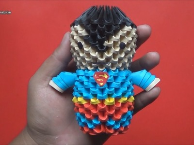 Origami 3D Mini Superman