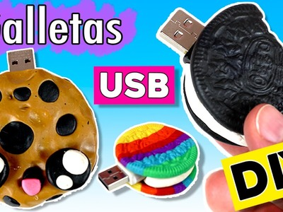 Pendrive USB Oreo y Cookie * MANUALIDADES vuelta a clases
