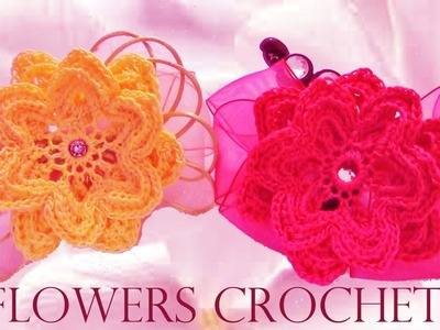 Como tejer flores fácil crear y diseñar accesorios -Make knits designs the best accessories  crochet