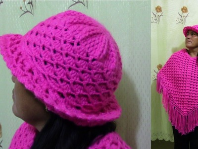 Sombrero tejido a crochet paso a paso - TEJIDOS OLGA HUAMAN