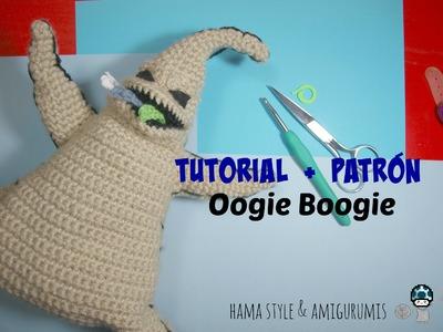 TUTORIAL + PATRÓN - Oogie Boogie de Pesadilla antes de Navidad amigurumi [1ºPARTE]