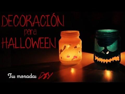 Decoración para Halloween || Iluminación DIY