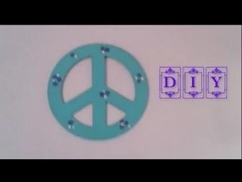 DIY Signo de la Paz. Peace Sign