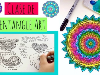 Aprende a hacer Zentangle Art y Mandalas