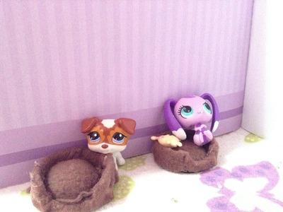 Como hacer camas para mascotas lps