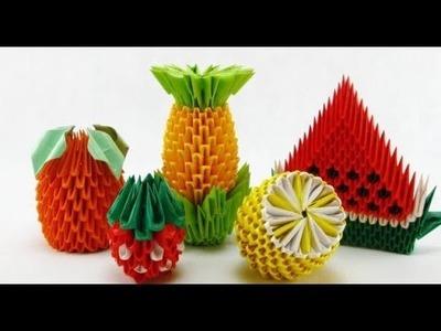 Como Hacer Piezas de Origami 3D - MAS RAPIDO! - Tutorial