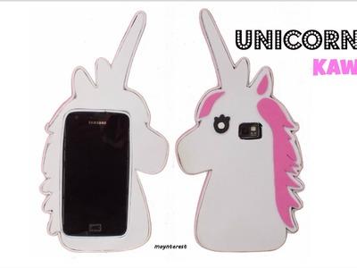 Cómo hacer una funda o carcasa para el móvil - Unicornio Kawaii