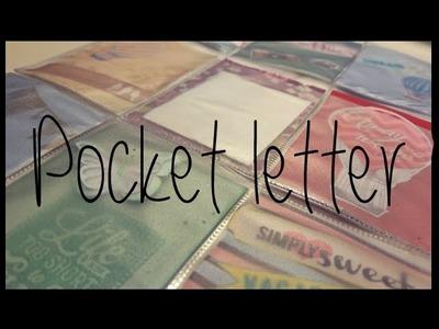 Como hacer una pocket letter sencilla