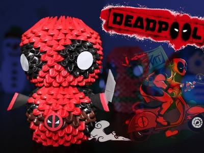 Deadpool 3D Origami | Pekeño ♥