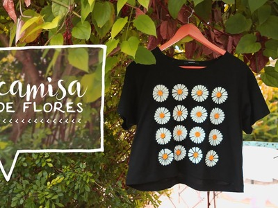 DIY Camiseta Gráfica de Daisy