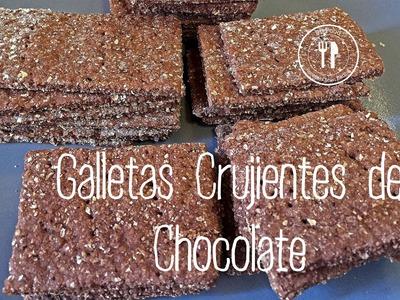 Galletas Crujientes de Chocolate   Recetas Clean Eating   FitFood