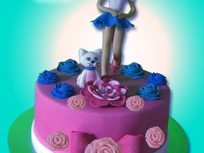 MUJER MODELADA DE PIE 1. STANDING WOMAN CAKE TOPPER
