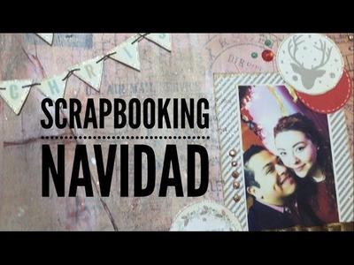 TUTORIAL LO6 Scrapbooking Navidad
