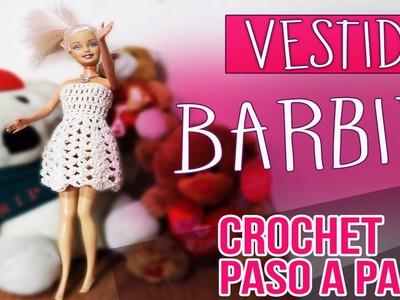 Vestido Para Muñeca Barbie - Tejido En Crochet Paso a Paso