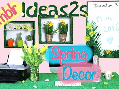 5 Ideas para cambiar tu cuarto. Spring decor DIY