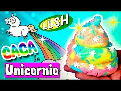 CACA de UNICORNIO DIY * BOMBA de BAÑO casera LUSH