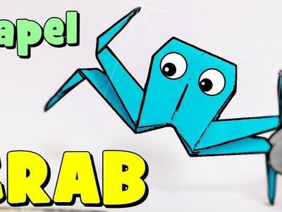 Cómo hacer un Cangrejo de Papel   Origami