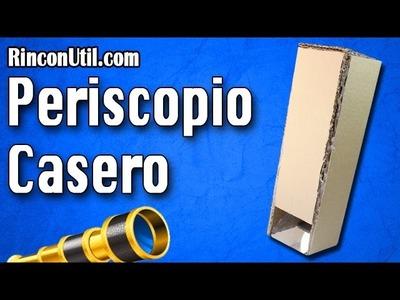Cómo hacer un Periscopio Casero