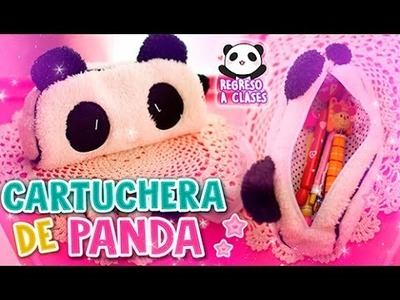 DIY ✩ CARTUCHERA DE PANDA  ✩ REGRESO A CLASES l Fabbi Lee